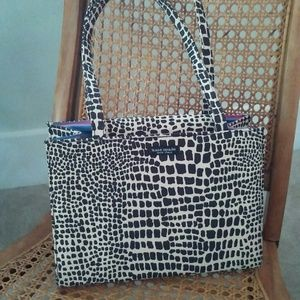 Authentic kate spade giraffe print bag/pocketbook/